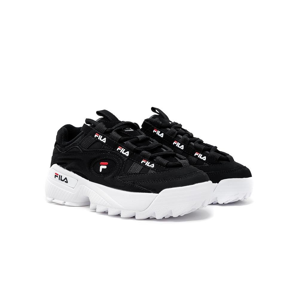 fila sneakers d formation nera loghi